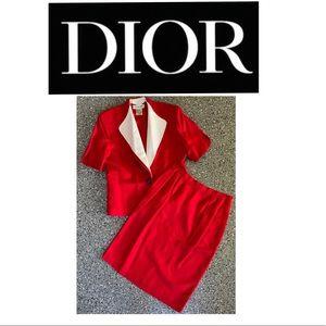Christian Dior Skirt Suit